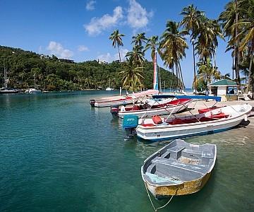 St. Lucia Marigot Bay Destination photography