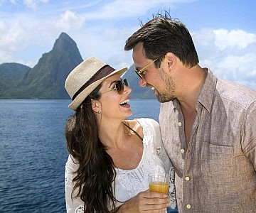 Romantic at sea