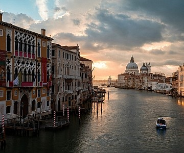 Venice view over the Grand Canal