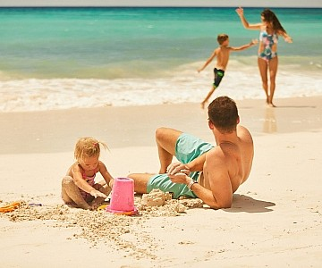 Family at Sea Breeze Barbados